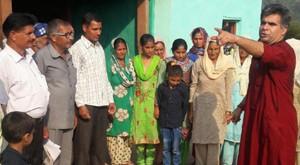 Raina announces Rs 28 lakh for road, culvert
