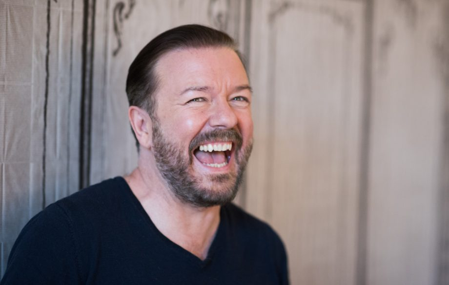 Ricky Gervais to play a suicidal man in Netflix series