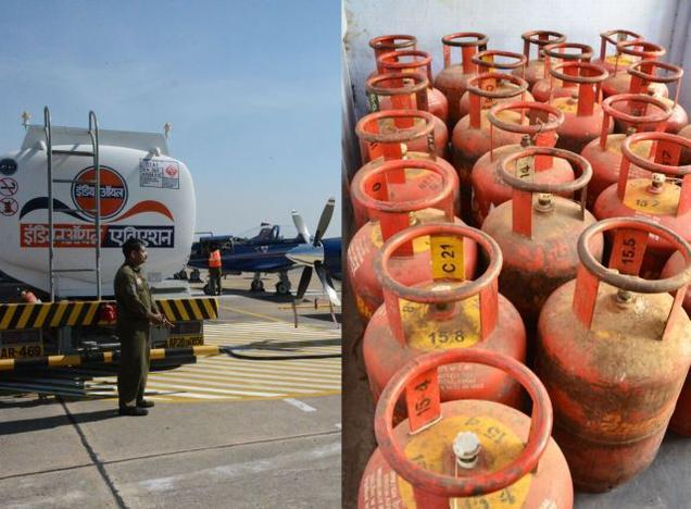 Cooking gas, jet fuel prices hiked