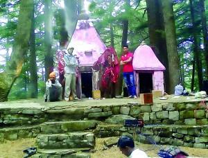 The temple of Naina Devi