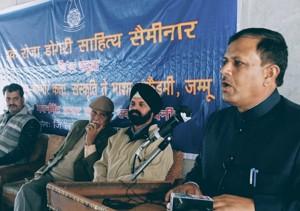 JKAACL organises first ever  Dogri seminar at Bani