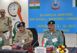 BSF and Rangers meet in New Delhi on Friday.