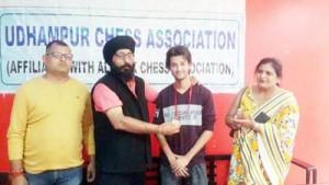 Ankush wins open chess title