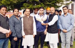 Yudhvir honours meritorious Taekwondo players