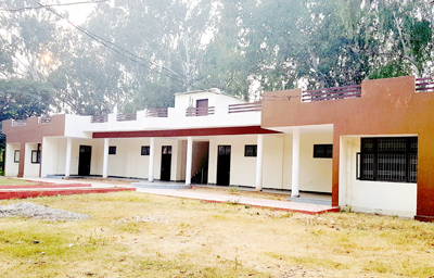 Girls Hostel which is in the possession of Skill Development Mission.