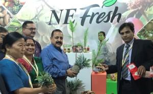 Dr Jitendra visits Northeast Ministry's Pavilion at World Food Festival