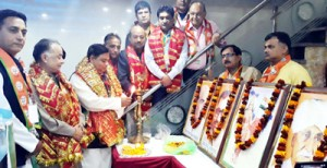 BJP holds district level Working Committee meetings
