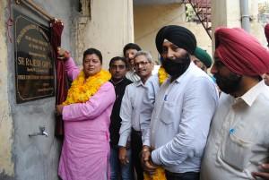 Rajesh inaugurates  community hall