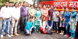 GCET organizes blood donation camp