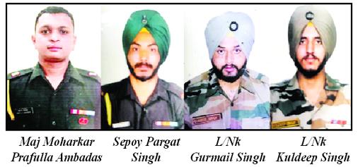 Major, 3 jawans martyred in heavy Pak firing in Rajouri