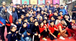 District Jammu emerges overall champion in Wushu