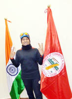 Gaurav runs 45.9 kms; dedicates  it to martyrs of Belt Forces