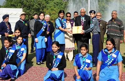 rajya puraskar award ceremony of bharat scouts guides held rh dailyexcelsior com Dress Guide and Scout Scout Guide and Details