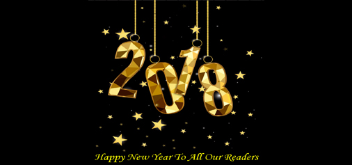 Happy New Year To All Our Readers