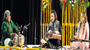 Artists performing during 70th anniversary celebrations of RKJ at Jammu.