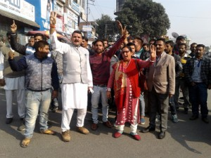 People take out protest march against illegal mining