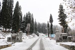 Nights colder, days warmer in Kashmir