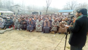PDP-BJP failed to create  peaceful atmosphere: Mir