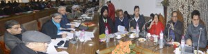 DyCM reviews power scenario in Kashmir, calls for reducing T&D losses