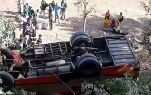 24 hurt as bus rolls down  on Jammu-Poonch road