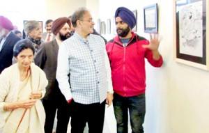 Viraj Kala Kendra organizes art exhibition