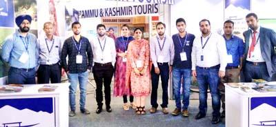 Delegation of J&K Tourism Department at IITM Hyderabad.