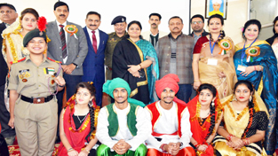MoS for Education, Priya Sethi during 2-day National Conference at GDC Udhampur on Saturday.