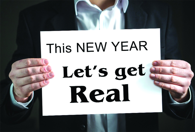 This New Year  Let's get Real