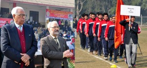 Governor inaugurates All India Inter University Roll Ball (Men and Women) Tournament