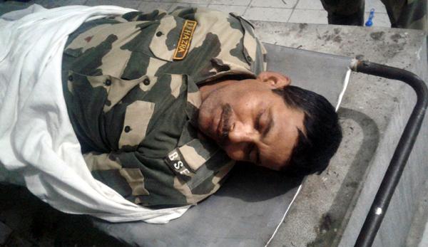 Martyr BSF jawan. —Excelsior/Gautam