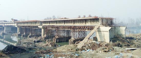 Incomplete Shalteng bridge.....