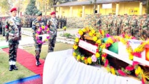 Army pays tributes to martyr