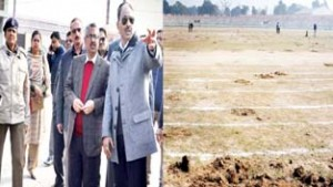Div Com visits MA Stadium, reviews Republic Day arrangements