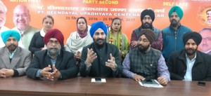 BJP giving due recognition to Sikh  community contributions: Varinderjit Singh