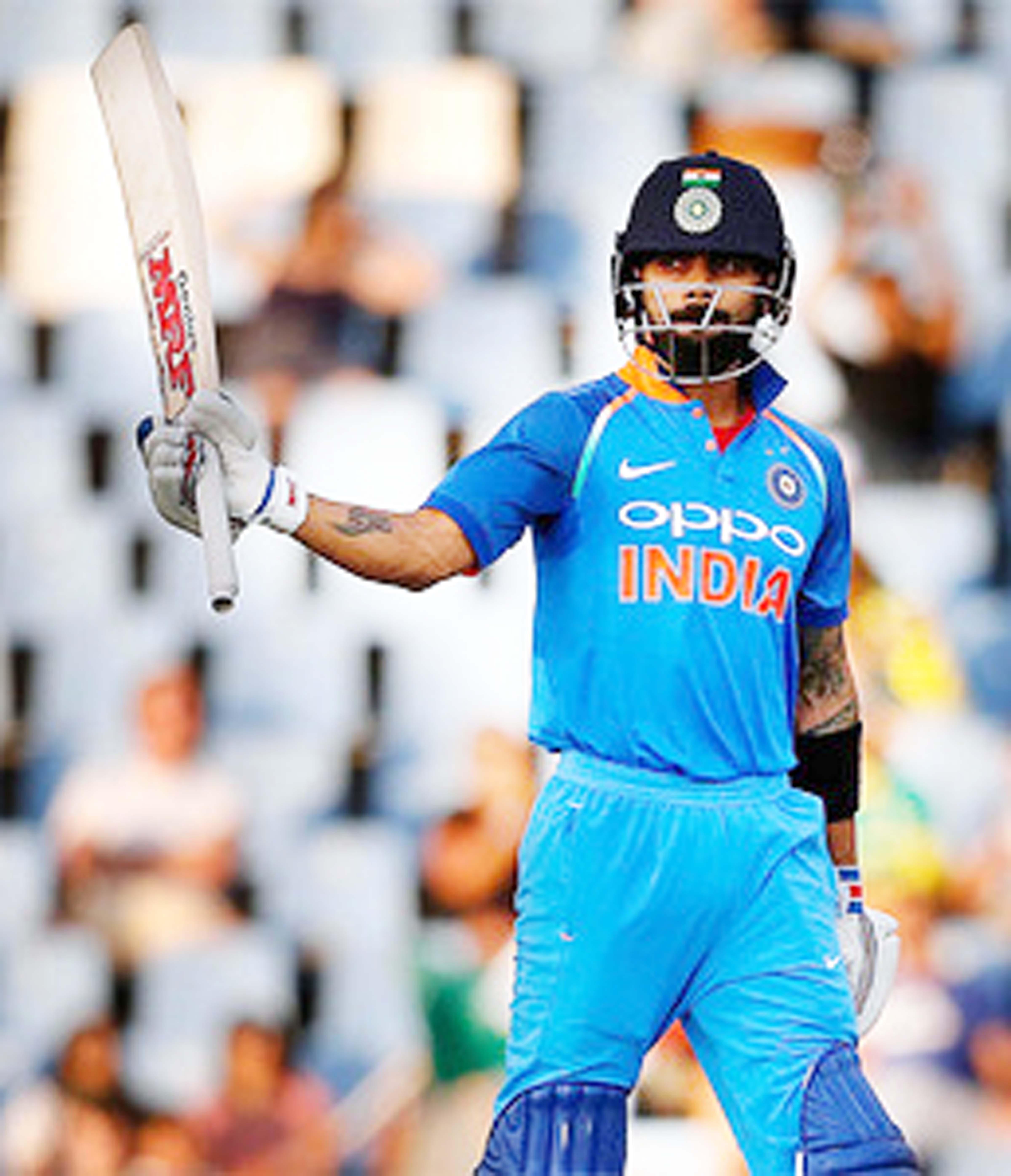 Virat Kohli celebrating 35th ODI century against South Africa in Centurion on Friday.