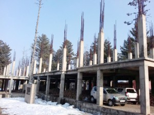 Funds scarcity hampers construction  of Tangmarg Mini-Sectt