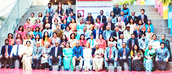 Delegates and Representatives at Annual Regional Meeting of Round Square in Bangladesh.