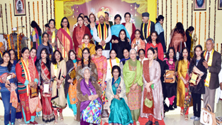 Dogra women achievers during an exclusive show organised by DSS on Wednesday.