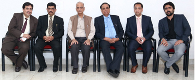Members from J&K Branch of NIRC of Institute of Chartered Accountants of India at a seminar in Jammu.