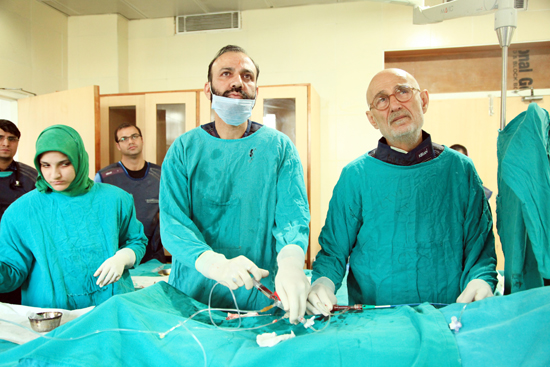Italy doctor conducts complex Coronary Procedures in Jammu