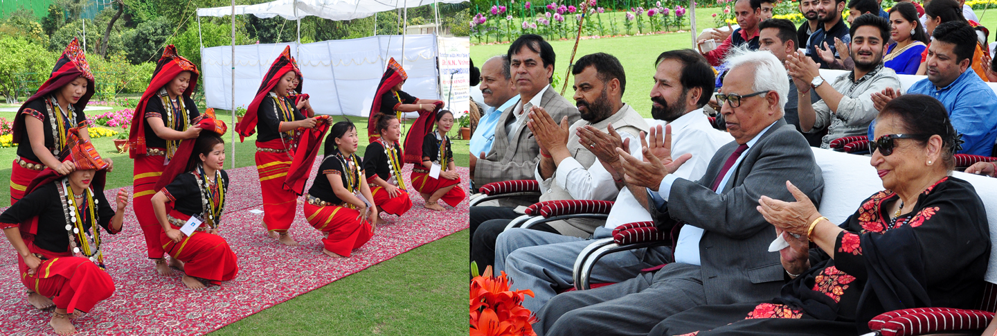 Governor and First Lady attend North East Youth Exchange Programme at Raj Bhavan