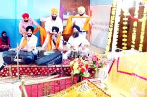 Kirtan Darbar organized on eve of Khalsa Sajna Divas