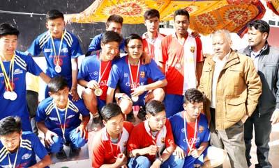progetto inter school athletic meet
