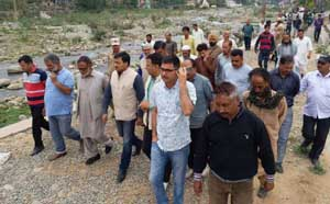 Vibodh tours Rajouri town, interacts  with civil society members