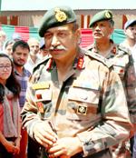 No militant recruitment during ceasefire: Lt Gen Bhatt