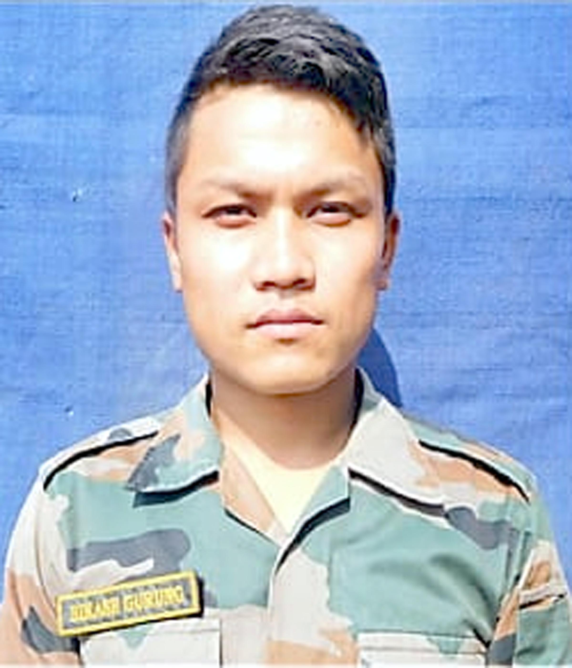 Martyr Bikas Gurung