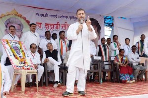 Grand alliance of oppn a sentiment  of people: Rahul Gandhi
