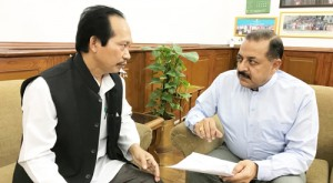 Mizoram Chakma Council Chief calls on Dr Jitendra