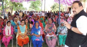 BJP's false promises brew  discontent among youth: Rana