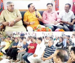 BJP holds meet at Katra